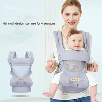 New Comfortable and breathable Front Facing Baby Carrier Multifunction for mum Sling Backpack Pouch Wrap Baby Kangaroo