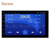 Seicane Универсальный 2 Din Android 6,0 Автомобильный навигатор стерео для Honda Kia Nissan Suzuki Toyota VW четырехъядерный Bluetooth радио wifi