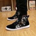 Botas femininas мужской высокого качества pu кожаные высокие ботинки мужские доры случайные кружева и пряжки ремень обувь человек досуг обувь