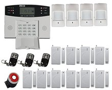 Freeshippin FDL-30A muti-language Voice alarm systems security home gsm alarm system home automation