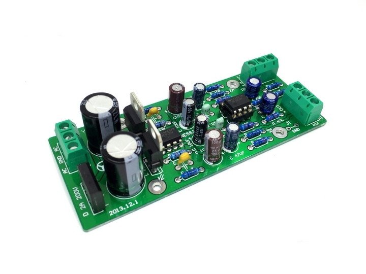 Asymetric Pre Amp With Dual Supply Voltage