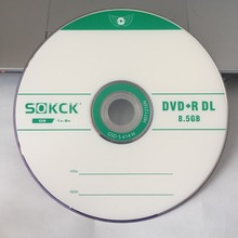25 диски 8,5 ГБ Класс A пустая печатная D9 DVD+ R двухслойный диск