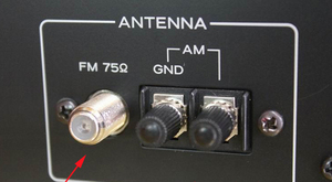 "Image 5 - 3 מטרים בורג מצופה זהב FM אנטנות מקורה זכר ""F"" מחבר 75 אוהם אוויר מתאים מקלט רדיו מגבר אודיו"