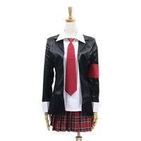 Anime Shugo Chara Hinamori Amu Cosplay Costume School Girls Uniform Halloween Costume Outfit S M L
