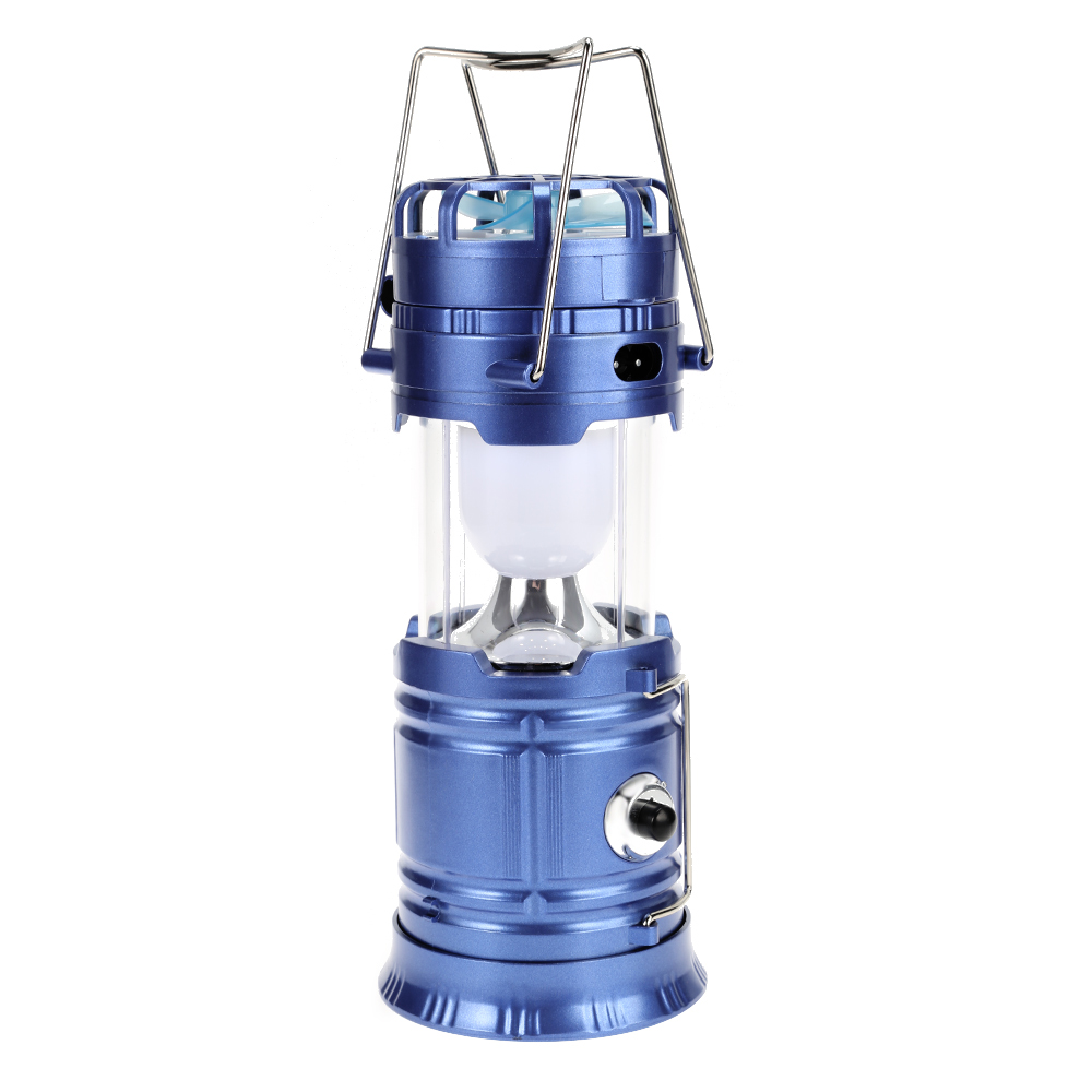 Lightme Premium Solar Powered Collapsible LED Camping Lantern With Fan For Camping Hiking Family Party Wedding Festival