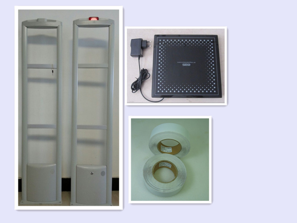 RF Detector Store Security System Checkpoint + Soft Label+ Deactivator