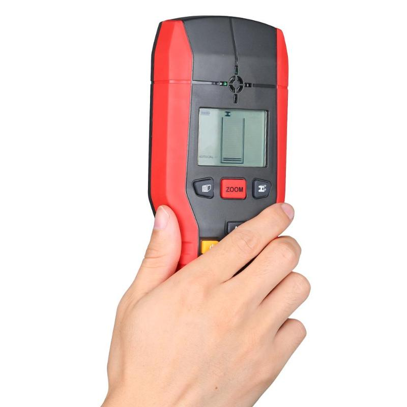 UNI-T UT387B Handheld Wall Detector Copper Metal Wood AC Cable Wall Finder Multifunction Wall Wall Detection Detector Tester uni t ut387b wall detector multifunctional handheld wall tester metal wood ac cable finder wall scanners