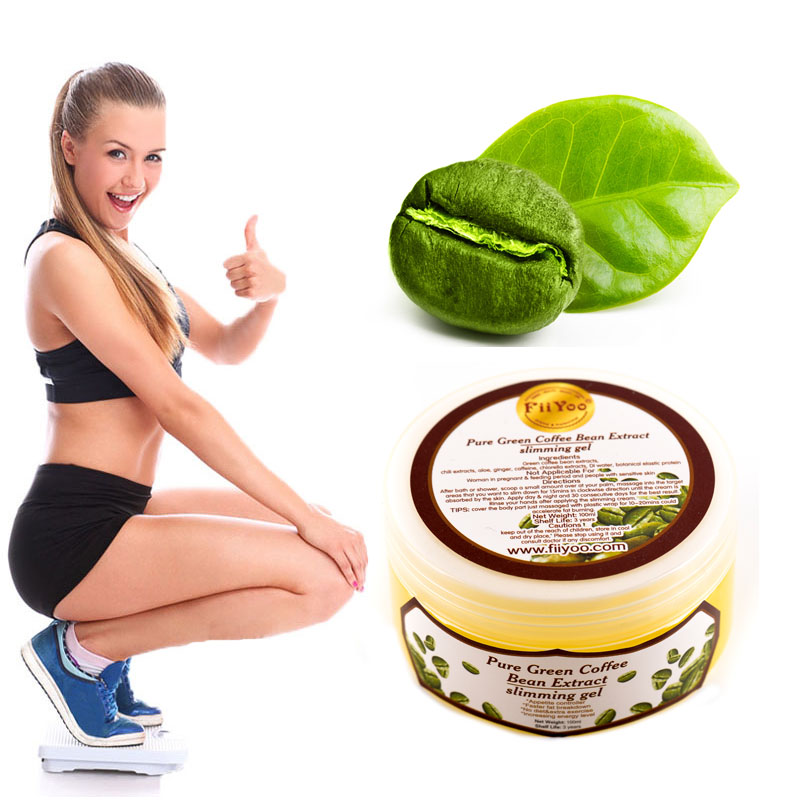 Pure Green coffee bean extract weight loss cream, burn fat slimming fast for men & women anti-cellulite diet cream