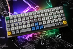 Image 2 - xd75re xd75am xd75 Custom Mechanical Keyboard 75 keys Underglow RGB PCB GH60 60% programmed gh60 kle planck hot swappable switch