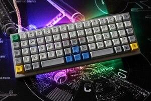 Image 2 - Механическая клавиатура xd75re xd75am xd75, настраиваемая клавиатура с 75 клавишами, подсветка RGB PCB GH60, 60% программируемый gh60 kle planck, переключатель горячей замены