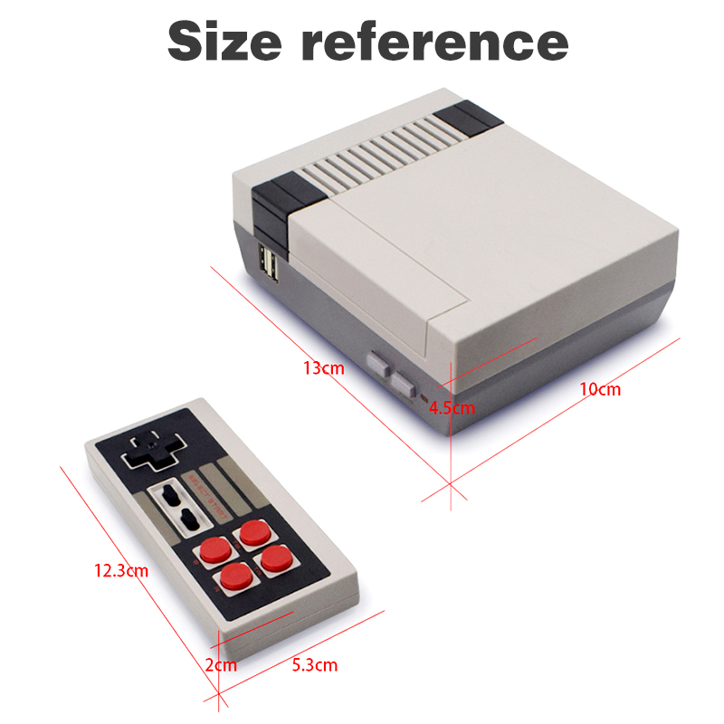 Image 2 - DATA FROG TV Video Game Console Built In 620 Games 8 Bit Retro Game Console Handheld Gaming Player Best Gift free shipping-in Handheld Game Players from Consumer Electronics