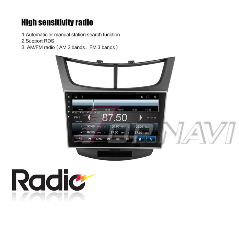 car stereo touch screen For Chevrolet Sail 3 2015