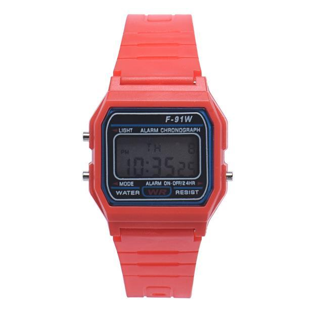Boys cirls child multifunction chidren digital watches Rubber Sports Electronic