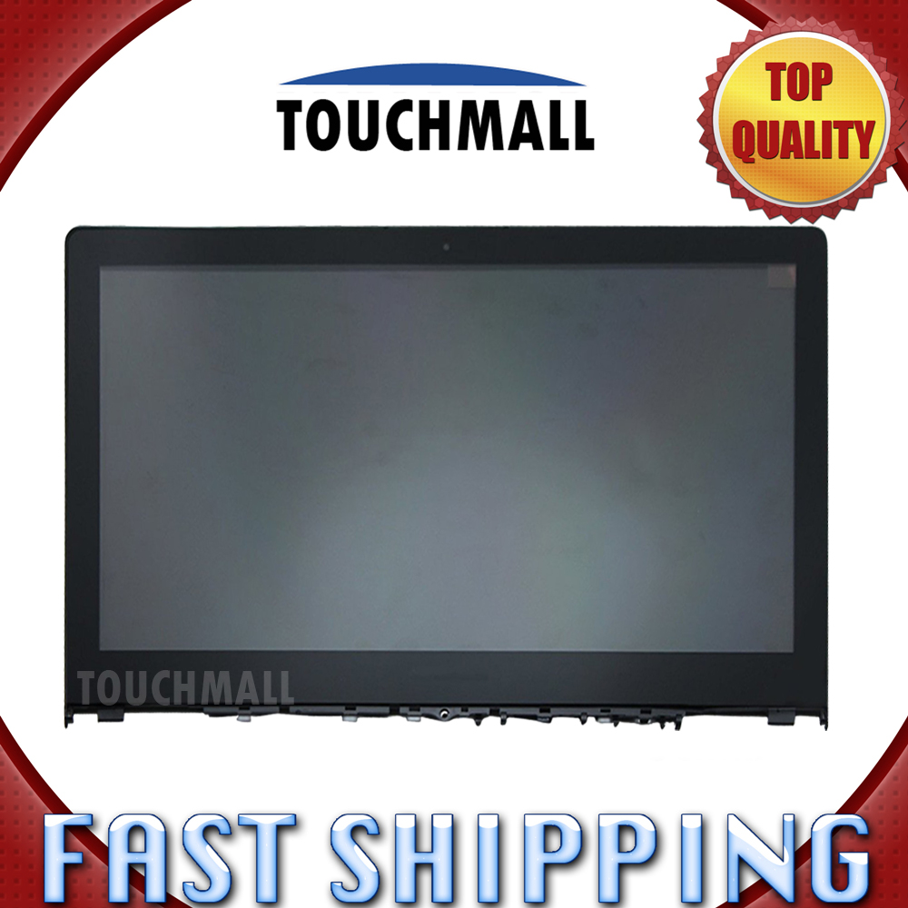 For Lenovo Flex 3 15 Flex 3-15 Series Replacement LCD Display Touch Screen with Frame Assembly 15.6-inch For Laptop replacement original touch screen lcd display assembly framefor huawei ascend p7 freeshipping