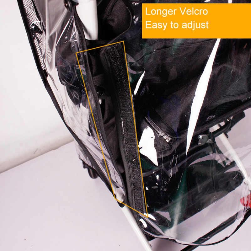 Nowa uniwersalna pełna osłona wodoodporna osłona przeciwdeszczowa przeciwkurzowa płaszcz przeciwdeszczowy akcesoria do wózka dziecięcego dla Babyzen YOYO YOYO + wózek