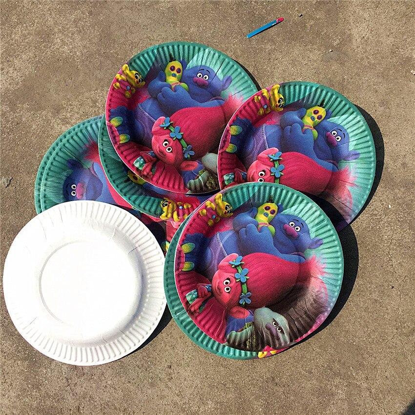 unids trolls conjunto cumpleaos decoracin manteles placa tazas de eventos artculos de fiesta temtica de cumpleaos fiesta de bienvenida al beb