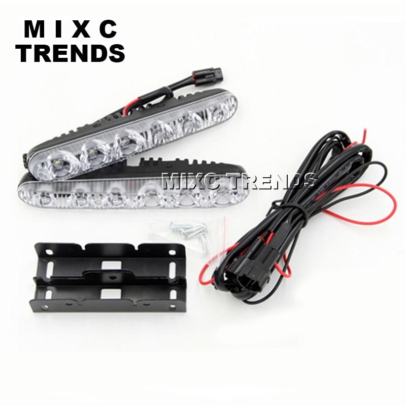 Drita më e re LED 2x6 LED Ndriçoni në ujë të papërshkueshëm - Dritat e makinave - Foto 3