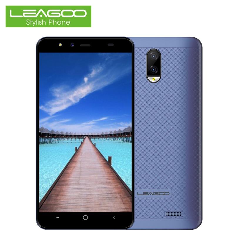 LEAGOO Z7 4g Mobile Téléphone Android 7.0 SC9832A Quad Core 1g + 8g Double Arrière Caméra Smartphone 5.0 pouce 3000 mah Cellulaire Déverrouillé Téléphones
