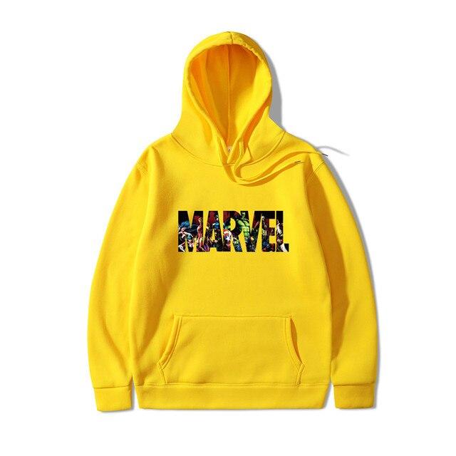 2019 New Marvel Hoodies Men Brand Suprem Japanese Hooded Sweatshirt Mens Hoodie Tracksuit Sweat Coat Casual Sportswear 5