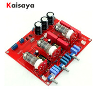 new 6N1 x 3 Tube Tone Board Preamplifier Classic Circuit Tube hifi Preamplifier Preamp Board