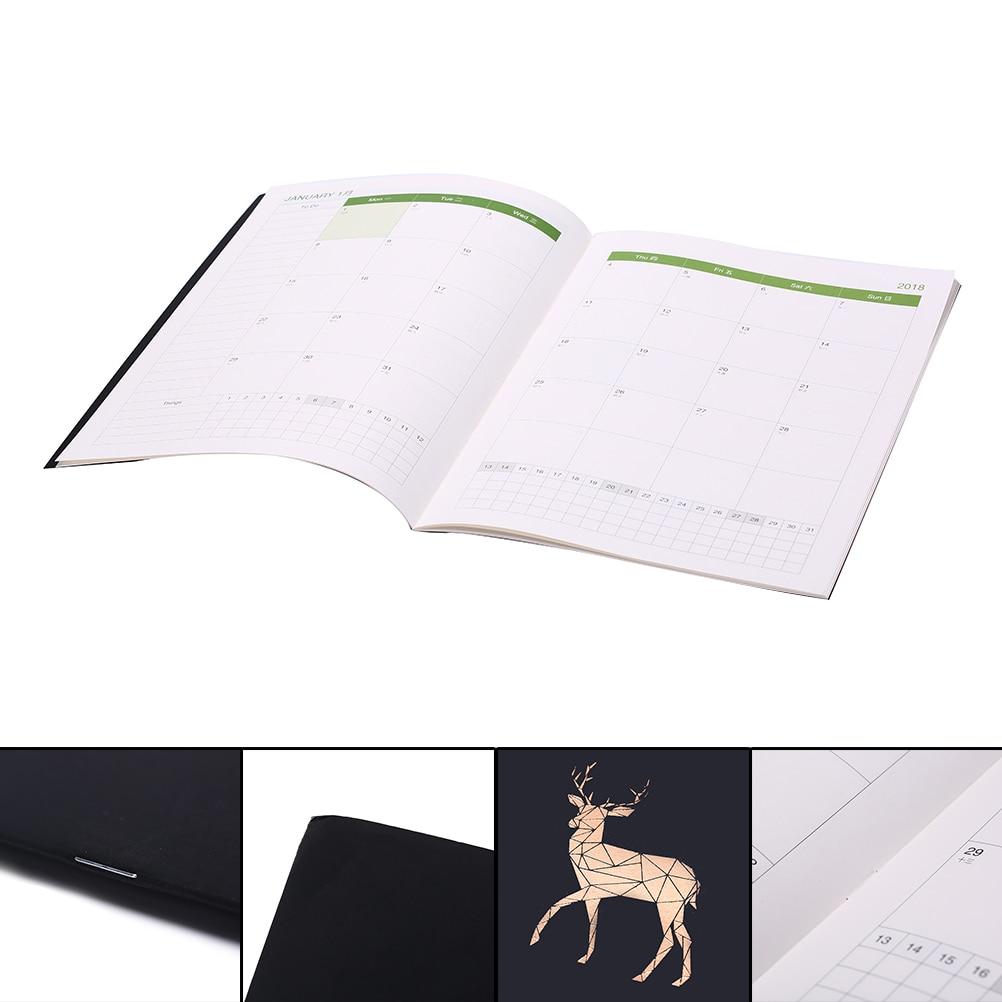 Korean Kawaii Metallic Gilding Deer Bird Horse Schedule Monthly Planner Organizer Notebook Kawaii A4 Agendas Gifts NewKorean Kawaii Metallic Gilding Deer Bird Horse Schedule Monthly Planner Organizer Notebook Kawaii A4 Agendas Gifts New