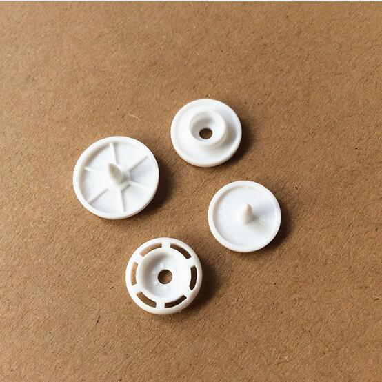 1000set KAM Resin Snap Buttons T5 White Color High Quality by KAM