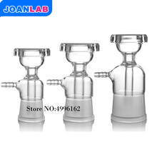 JOANLAB Glass Filterting Head For Vacuum Filtration Apparatus, Membrane Filter,Sand Core Filter Equipment, Lab Glassware