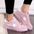 Sapatos coreano Para As Mulheres Sapatos Casuais Verão-fundo Plano Sapatos Apartamentos Confortáveis Solas de Eva Sapatos de Plataforma Mulher Chaussure Femme