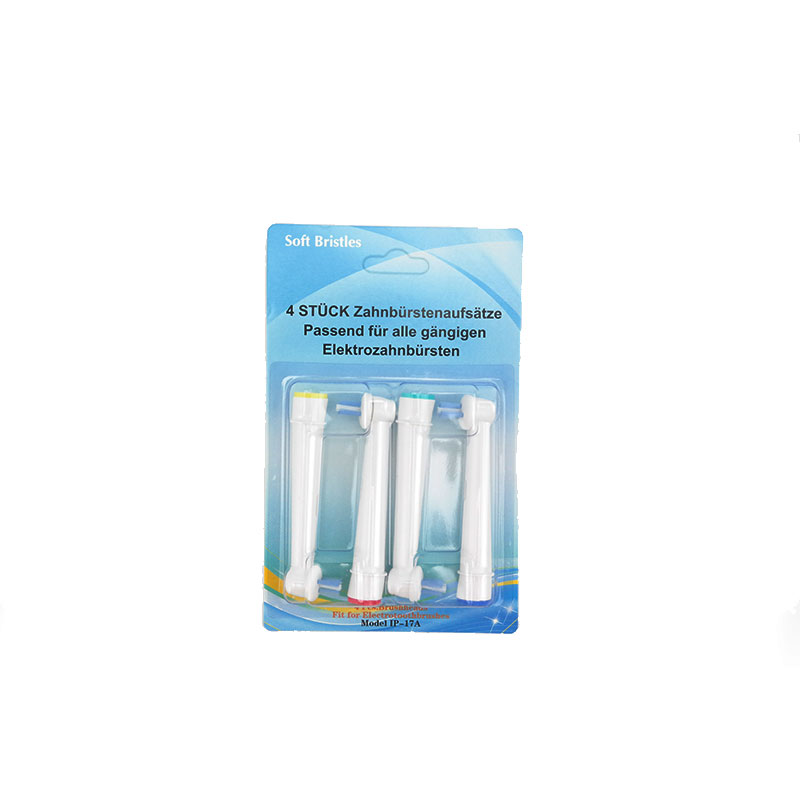 4 pcs Electric Toothbrush Replacement Heads For Oral B Power Tip Compatible for all Oral-B handles (excluding Pulsonic/Sonic) image