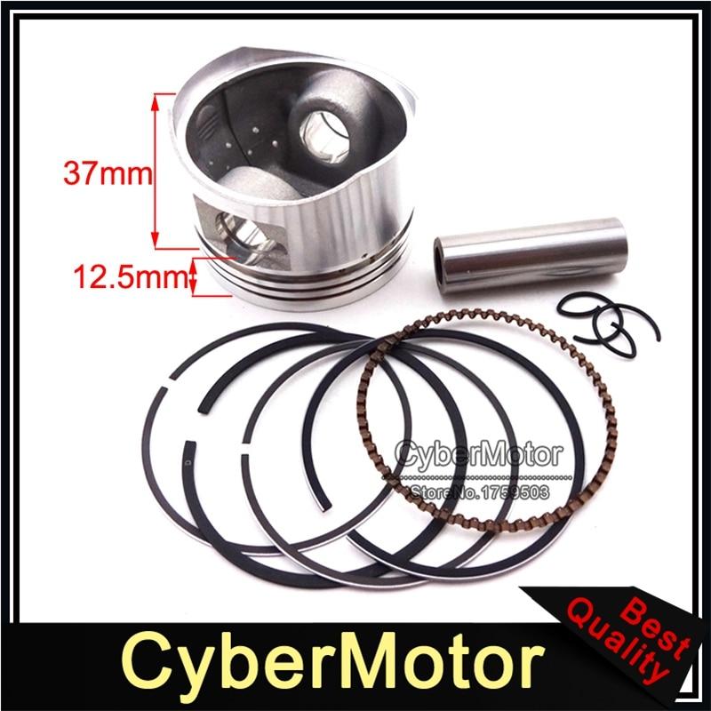 52mm 13mm Piston Pin Ring Set For Lifan 110cc Pit Dirt Trail Motor Bike ATV Quad