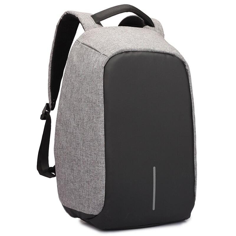 Männer Rucksack diebstahl multifunktionale Oxford Casual Laptop Rucksack Mit USB-Lade Wasserdichte Reisetasche Laptop-tasche Rucksack