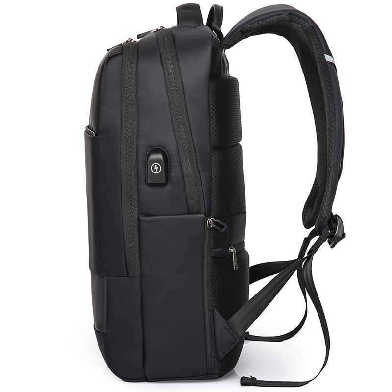 KAKA 2019 зарядка через USB рюкзак мужской Противоугонный деловой рюкзак черный водонепроницаемый Дорожная сумка спортивная сумка для ноутбука для мужчин