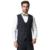 (Sólo el Chaleco) de alta Calidad de Los Hombres de Traje A Cuadros Chaleco 2016 Nueva Llegada Slim Fit Marca de Moda de Negocios Formal Chaleco F1600