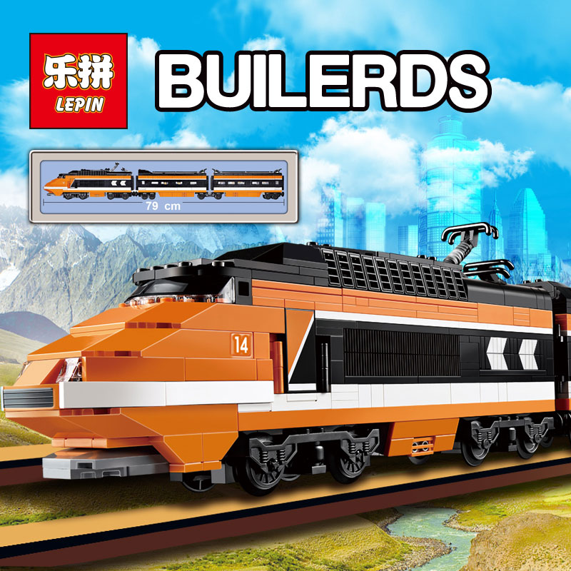 Lepin 21007 Horizon Express Technic Train 1351pcs Building Bricks Blocks New year Gift Toys for Children Compatible  10233 бокорезы brigadier 21007