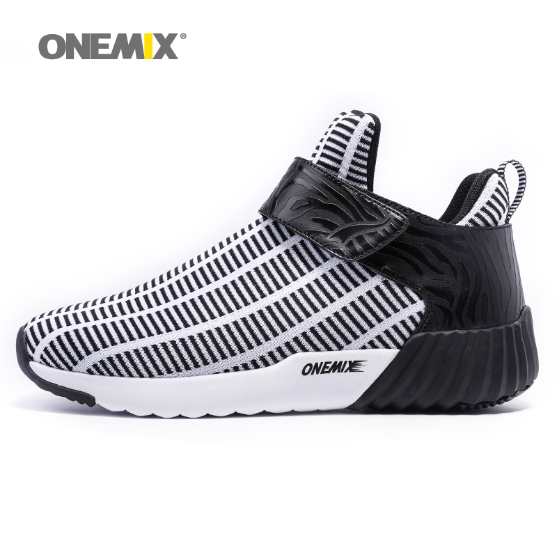 ONEMIX New Man Running Shoes for Men 2018 High Top Sport Zapatillas Outdoor Nice Trends Athletic Trainers Trail Walking Sneakers мужские кроссовки zapatillas deportivas sport shoes men sneaker ladies trainers 2015 zapatillas deportivas new 2015 unisex rubber flat sport shoes woman sneakers