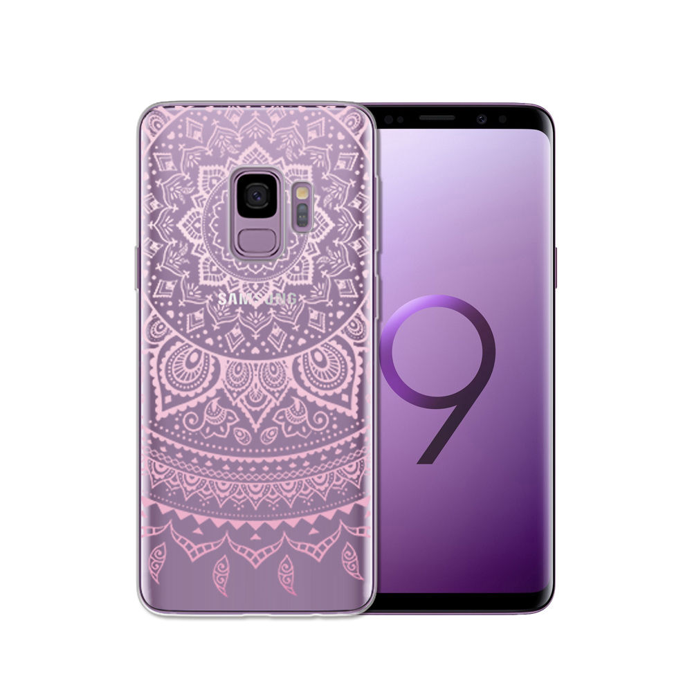 Arvin Silicone Case FOR Samsung Galax s5 S6 S7 S8 Clear Protective case FOR Samsung S6 edge S8 Plus S9 Plus Soft TPU Phone Cover (9)