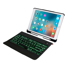 Bluetooth Keyboard Case For iPad 2018 9.7 Ultra Slim Stand Leather Cover For iPad 2017,  Pro 9.7 Air 1/2 Tablet Keyboard цена в Москве и Питере