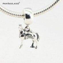 Maximus Horse Vintage Beads Fit Pandora Charms Pulsera Plata 925 Original 2016 Nuevo Disny Granos para Hacer La Joyería de Moda DIY