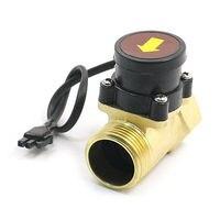 0.75 5L/Min 800W 1PT Male Female Thread Brass Water Flow Rate Sensor Counter