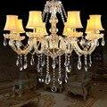 Хрустальные люстры  Светильники для кухни  спальни  lustre de cristal para sala de jantar  современная люстра с абажуром