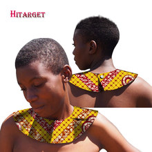 2017 African Rope Chain Statement Necklace Ankara Women Jewelry Handemade Collares Chokers WYB237