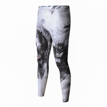High-Quality Men's 3D Pattern Fitness Leggings [9 colors]