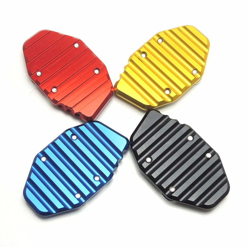 MT-03 MT-25 R25 R3 CNC Side Stand Kickstand Support Plate Foot Pads for YAMAHA YZF-R3 YZF-R25 2014 2015 2016 MT 25 MT 03 (6)