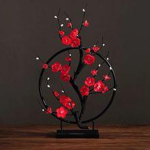 Искусственный цветок вишня Весна Слива персик ветка шелк цветок дерево цветок бутон для свадебной вечеринки декор