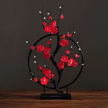 Artificial flower Cherry Spring Plum Peach Blossom Branch Silk Flower Tree bud For Wedding Party Decors