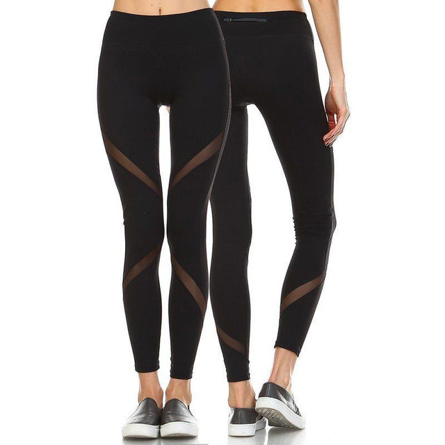 70d687d08f5e9 Sexy Women Fitness Leggings Ladies Trousers Stretch Low Waist Bodybuilding  2 Colors Solid Pants Leggings Size 6-14