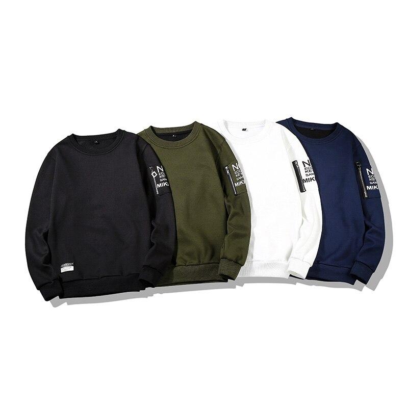 Spring Men Hoodies Sweatshirts Long Sleeve Tops Solid Casual Pullover Mens Sweatshirt Brand Coats Autumn Outerwear Hip Hop C39