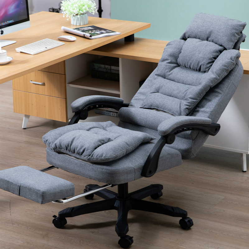 Computer Chair Home Fabric Leisure Boss Chair Washable Office Chair Swivel Lift Chairs Massage Recliner Silla Oficina