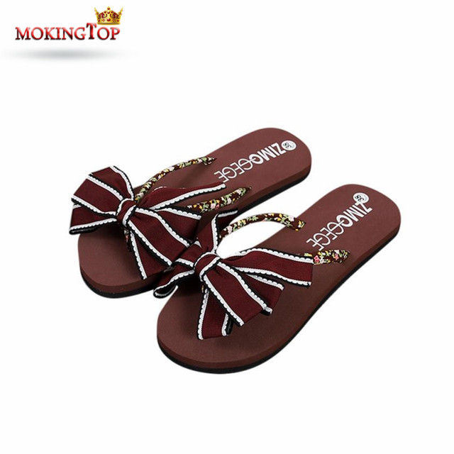 Women Summer Flip Flops Shoes Sandals Slipper Indoor & Outdoor Flip-Flops (38, Rosa)