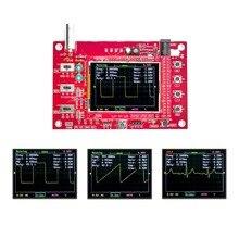 """Tamamen monte edilmiş DSO FNIRSI 138 açık kaynak 2.4 """"TFT dijital osiloskop (1 Msps) ile ücretsiz probu"""